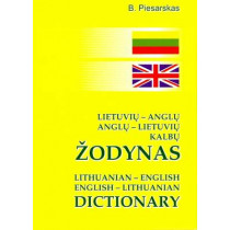 Lithuanian-English and English-Lithuanian Dictionary: 25,000 Words and Phrases by B. Piesarskas, 9789986833529