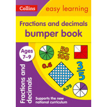 Fractions & Decimals Bumper Book Ages 7-9 (Collins Easy Learning KS2) by Collins Easy Learning, 9780008212438