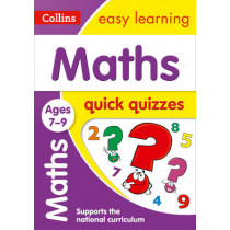 Maths Quick Quizzes Ages 7-9 (Collins Easy Learning KS2) by Collins Easy Learning, 9780008212629