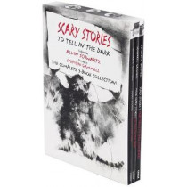 Scary Stories Paperback Box Set: The Complete 3-Book Collection with Classic Art by Stephen Gammell by Alvin Schwartz, 9780062682895