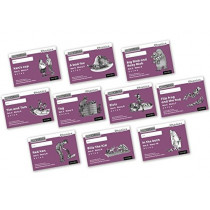 Read Write Inc. Phonics: Black and White Purple Set 2 Storybooks Mixed Pack of 10 by Gill Munton, 9780198372639