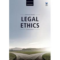 Legal Ethics by Jonathan Herring, 9780198788928
