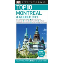DK Eyewitness Top 10 Montreal and Quebec City by DK, 9780241256886