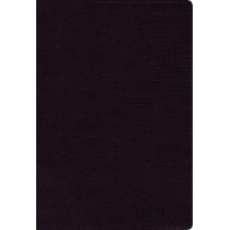 NIV, Thinline Bible, Large Print, Bonded Leather, Black, Red Letter Edition, Thumb Indexed, Comfort Print by Zondervan, 9780310448334