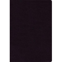NIV, Thinline Bible, Bonded Leather, Black, Red Letter Edition, Comfort Print by Zondervan, 9780310448761