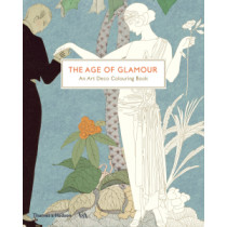 The Age of Glamour: An Art Deco Colouring Book, 9780500420690