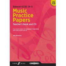 Edexcel GCSE Music Practice Papers Teacher's Book and CD by Julia Winterson, 9780571540051