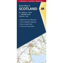 Scotland by AA Publishing, 9780749578978