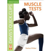 Daviss Quick Clips: Muscle Tests by J. Nathan Wilder, 9780803625471