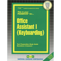 Office Assistant I (Keyboarding): Passbooks Study Guide by National Learning Corporation, 9780837346991
