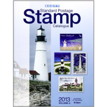 Scott 2013 Standard Postage Stamp Catalogue Volume 5 Countries of the World N-Sam by Charles Snee, 9780894874734