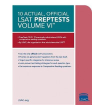 10 Actual, Official LSAT Preptests Volume VI: Preptests 72a81 by Law School Council, 9780998339788