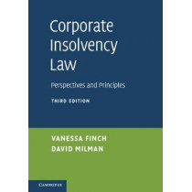 Corporate Insolvency Law: Perspectives and Principles by Vanessa Finch, 9781107629554