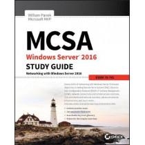MCSA Windows Server 2016 Study Guide: Exam 70-741 by William Panek, 9781119359333