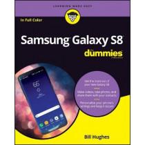 Samsung Galaxy S8 For Dummies by Bill Hughes, 9781119382232