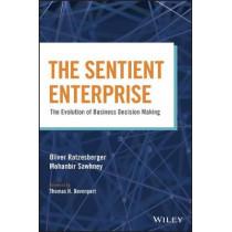 The Sentient Enterprise: The Evolution of Business Decision Making by Oliver Ratzesberger, 9781119438861