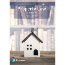 Property Law by Roger Smith, 9781292095592