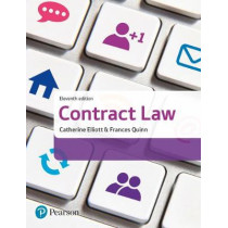 Contract Law by Catherine Elliott, 9781292147093