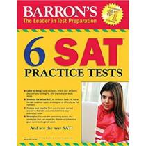 Barron's 6 SAT Practice Tests by Philip Geer, 9781438009964