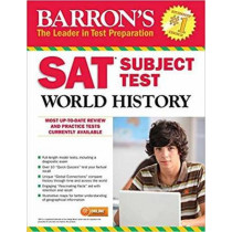 Barron's SAT Subject Test World History with Online Tests by William Melega, 9781438010007