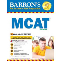 Barron's MCAT with Online Tests by Jay B. Cutts, 9781438077925