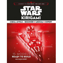 Star Wars Kirigami: 15 Cut and Fold Ships from Across the Galaxy by Marc Hagan-Guirey, 9781452167619