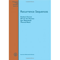 Recurrence Sequences by Graham Everest, 9781470423155
