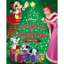 Disney's Countdown to Christmas: A Story a Day by Disney Storybook Art Team, 9781484730522