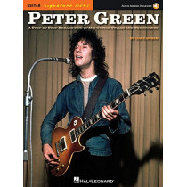 Green Peter Signature Licks Guitar Book/Audio Online by Dave Rubin, 9781495019258