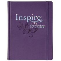 NLT Inspire PRAISE Bible, Purple by Tyndale, 9781496426628
