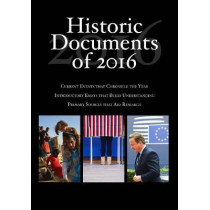 Historic Documents of 2016 by Heather L. Kerrigan, 9781506375007