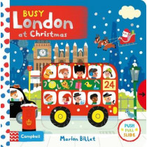 Busy London at Christmas by Marion Billet, 9781509851515