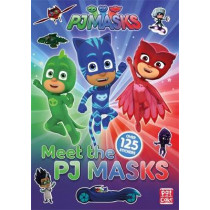 PJ Masks: Meet the PJ Masks!: A PJ Masks sticker book by Pat-a-Cake, 9781526380456