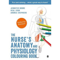 The Nurse's Anatomy and Physiology Colouring Book by Jennifer Boore, 9781526424358