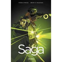 Saga Volume 7 by Fiona Staples, 9781534300606