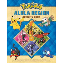 Pokemon Alola Region Activity Book by Lawrence Neves, 9781604381955