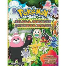 Pokemon Alola Region Sticker Book by The Pokemon Company International, 9781604381962