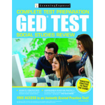 Ged Test Social Studies Review by Learning Express, 9781611030884
