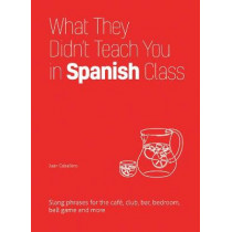 What They Didn't Teach You In Spanish Class: Slang Phrases for the Cafe, Club, Bar, Bedroom, Ball Game and More by Juan Caballero, 9781612436753
