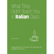 What They Didn't Teach You In Italian Class: Slang Phrases for the Cafe, Club, Bar, Bedroom, Ball Game and More by Gabrielle Euvino, 9781612436784