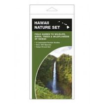 Hawaii Nature Set: Field Guides to Wildlife, Birds, Trees & Wildflowers of Hawaii by James Kavanagh, 9781620051368