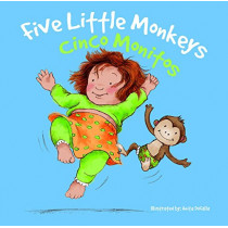 Cinco Monitos: Five Little Monkeys by Rhea Wallace, 9781683420156