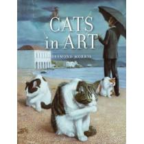Cats in Art by Desmond Morris, 9781780238333