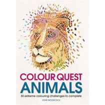 Colour Quest Animals by John Woodcock, 9781782437130
