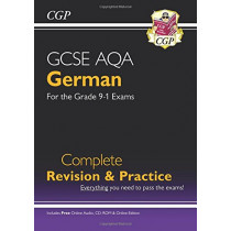 New GCSE German AQA complete revision & practice ( with CD & online ed ), 9781782945543