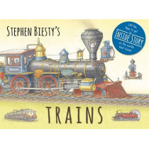 Stephen Biesty's Trains: Cased Board Book with Flaps by Stephen Biesty, 9781783704248
