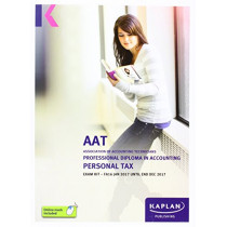 AAT Personal Tax FA2016 - Exam Kit by Kaplan Publishing, 9781784156008