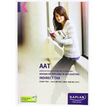 AAT Indirect Tax FA2016 - Study Text by Kaplan Publishing, 9781784156275