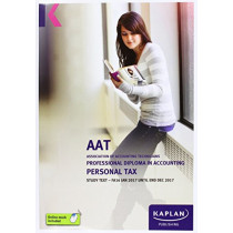 AAT Personal Tax FA2016 - Study Text by Kaplan Publishing, 9781784156367