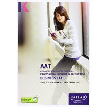 AAT Business Tax FA2016 - Study Text by Kaplan Publishing, 9781784156374